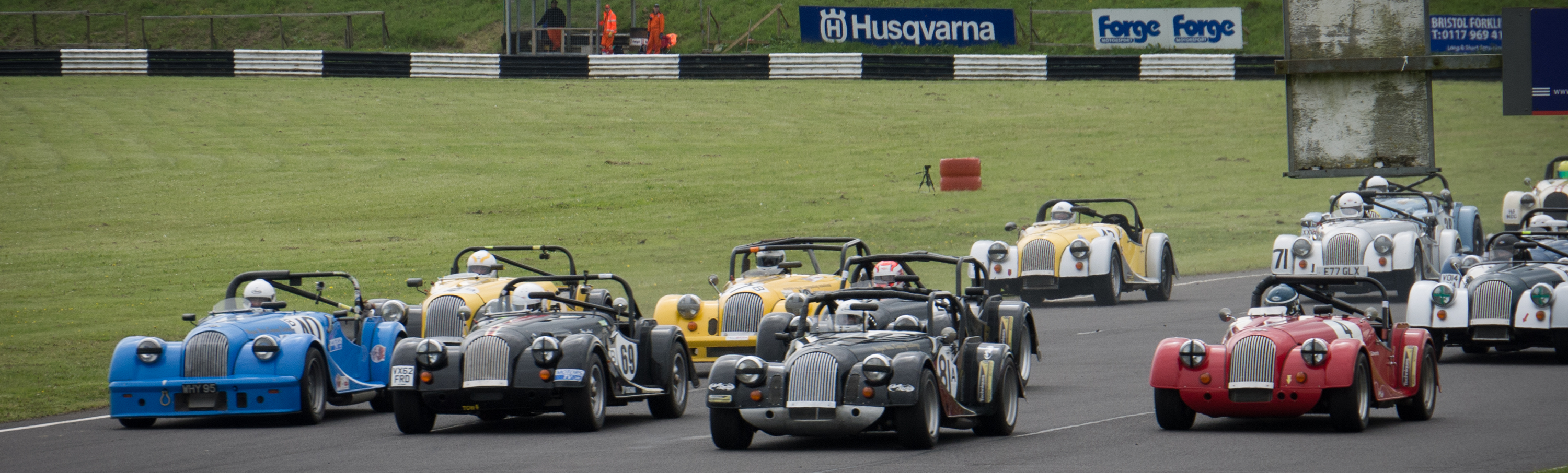 Morgan Challenge race at Castle Combe